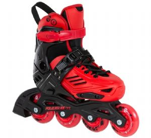 Powerslide Khaan JR Adjustable Red